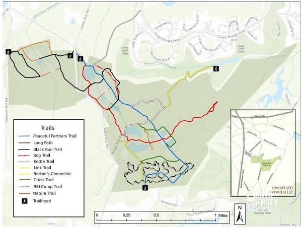 Black Run Preserve Trails Evesham Nj South Jersey Trails