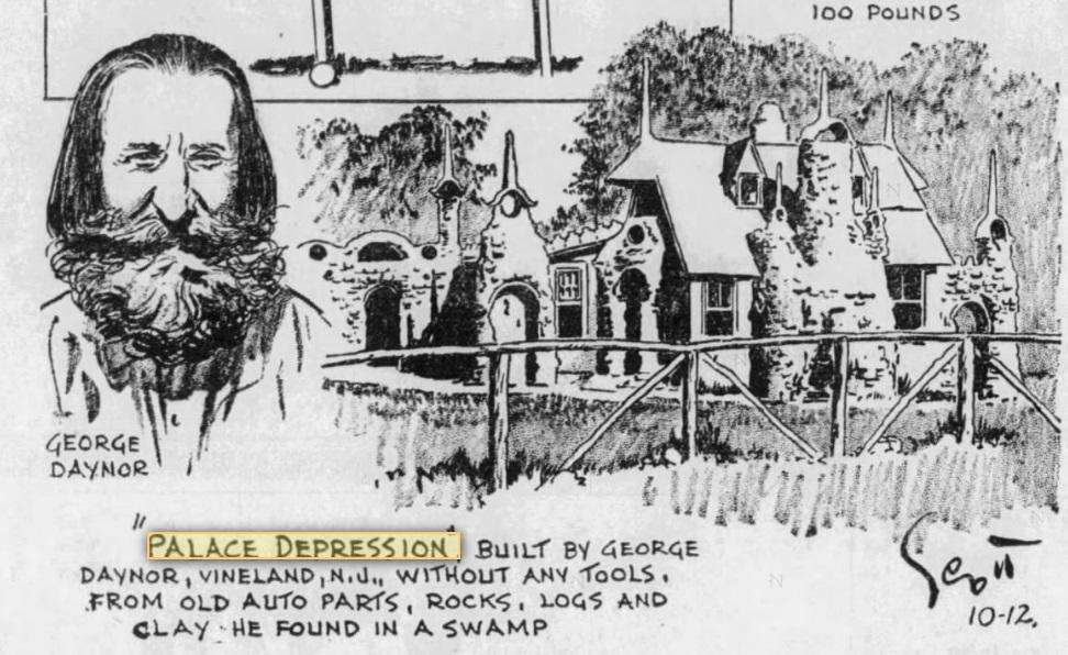 1934 newspaper clip.